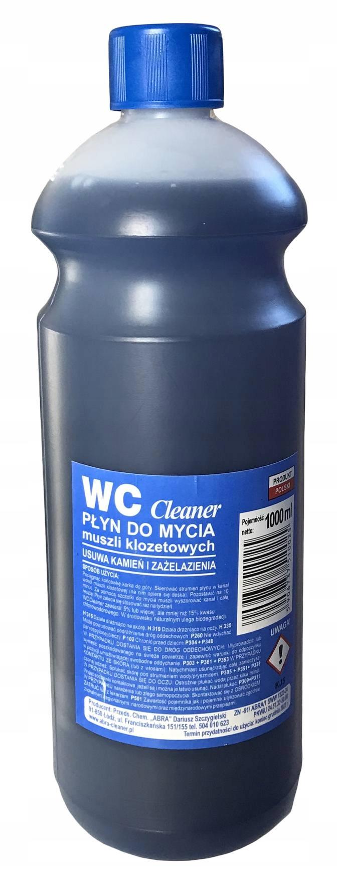 WC CLEANER жидкость для мытья унитазов