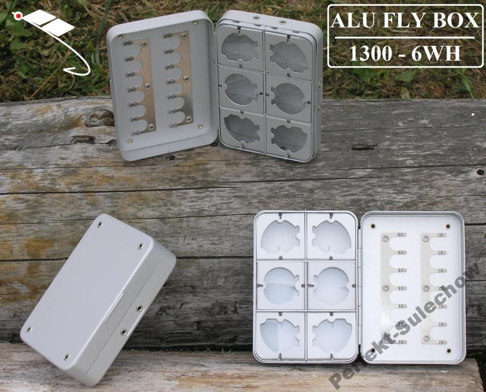 ALU FLYN Box 1300-6wh perfekt Mucha Streamer Nimfa