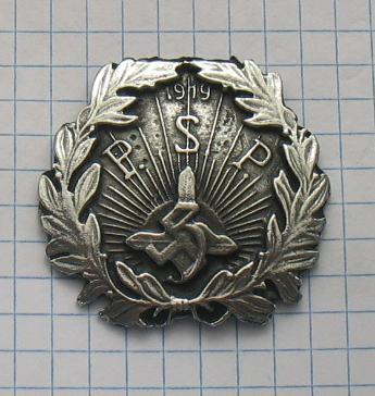 Badge P.S.P. 1919