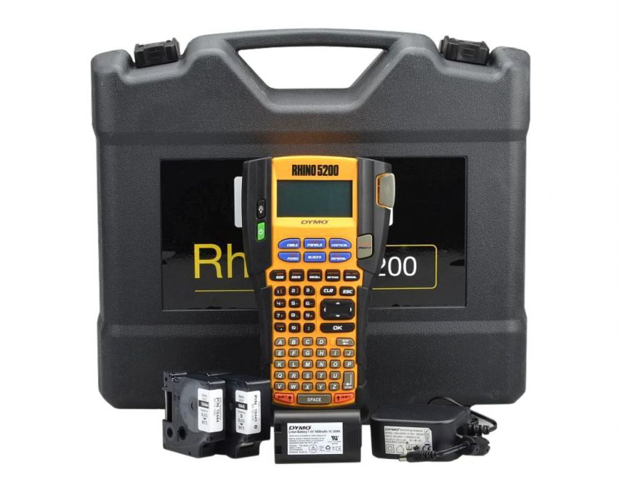 Dymo Rhino 5200 Tlačiarne kufrík 2 Taps Free!