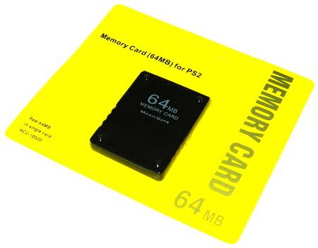 Pamäťová karta PS2 64MB Pamäťová karta Playstation 2