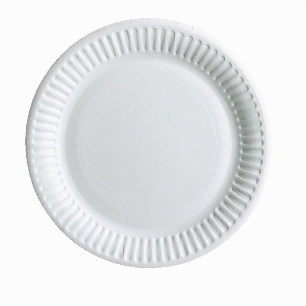 Одноразовая посуда Бумажные тарелки 18см 100шт