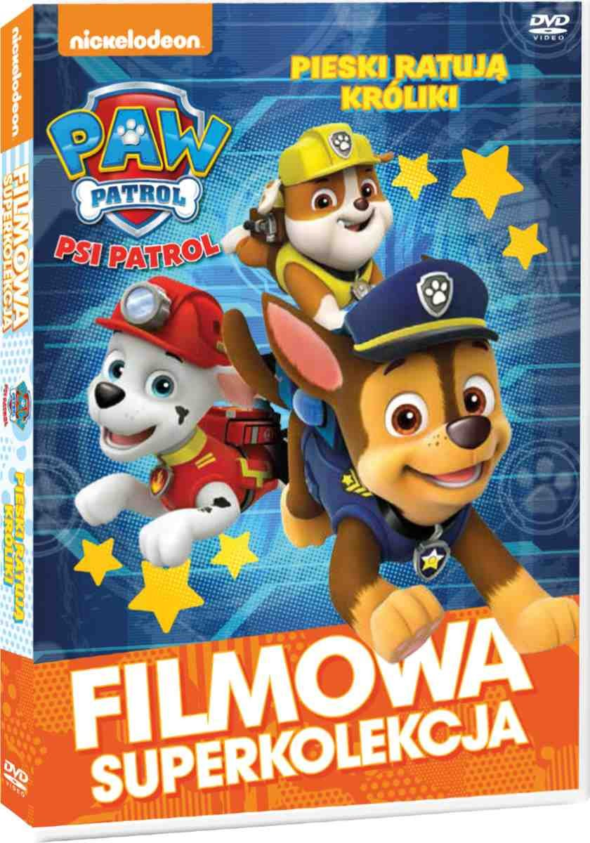 Item DOG PATROL Dogs Save Rabbit DVD EN 120мин 24 hours