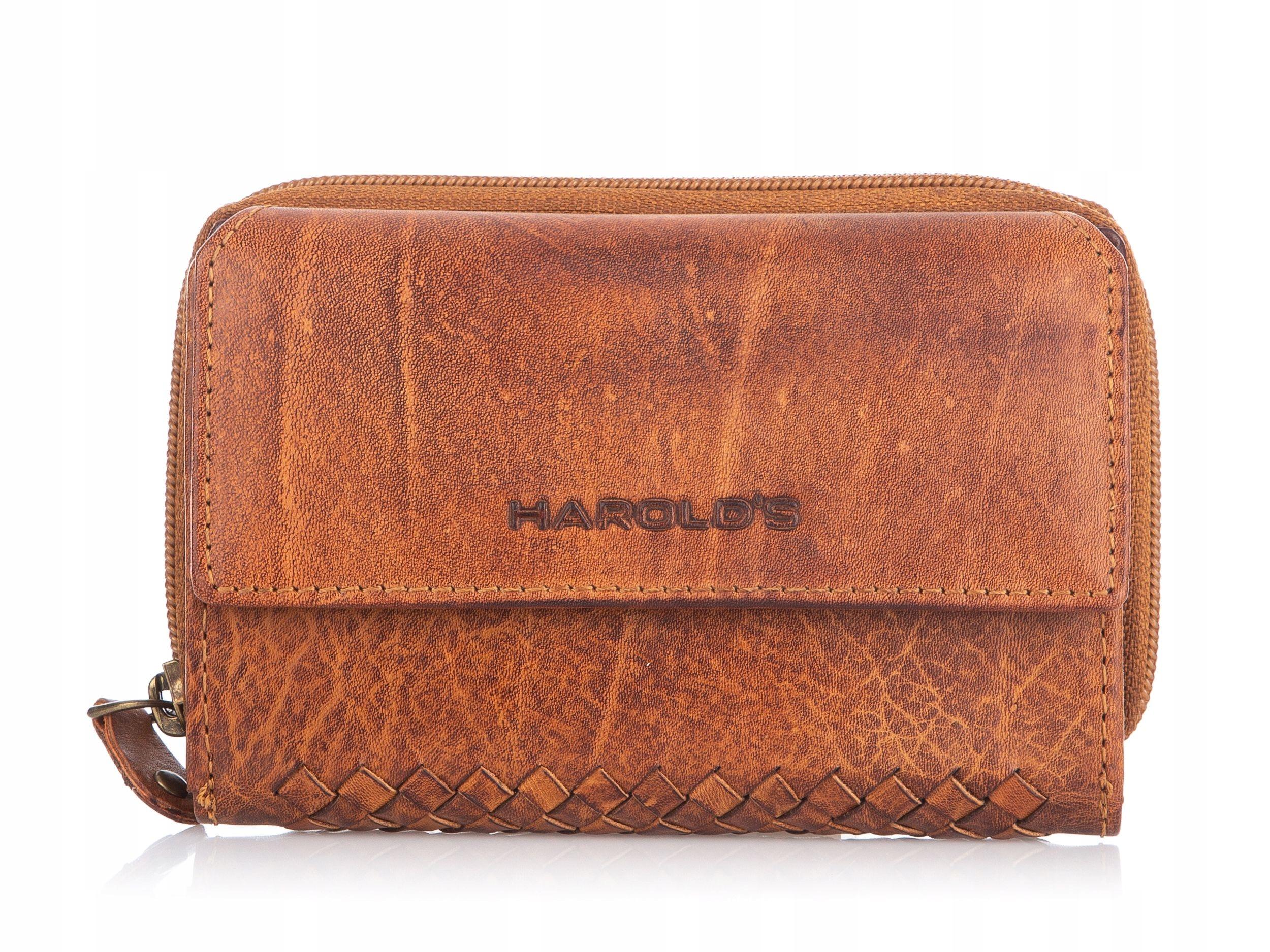 Veľká priestranná retro kožená pánska peňaženka