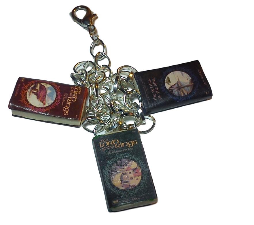 Bransoletka Władca Pierścieni, mini książki