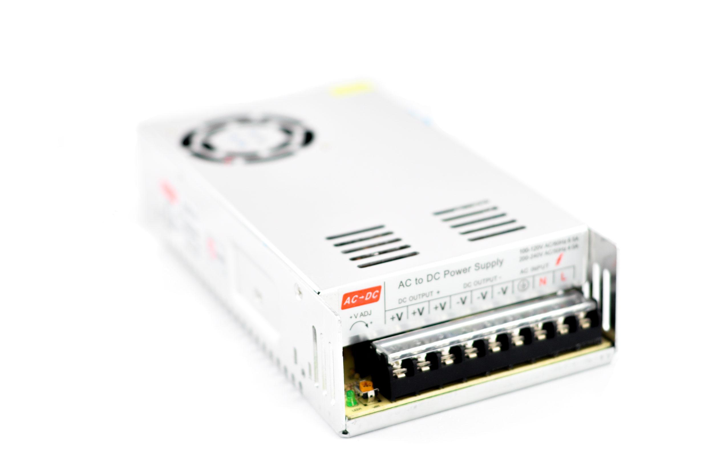 Modulárny zdroj napájania 12V 30A 360W 3D tlačiareň
