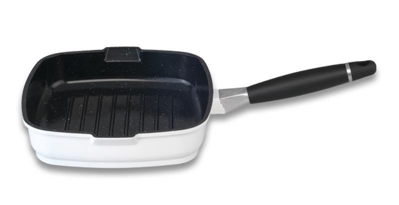 BerghOff Grill Pan Pango White 24 cm
