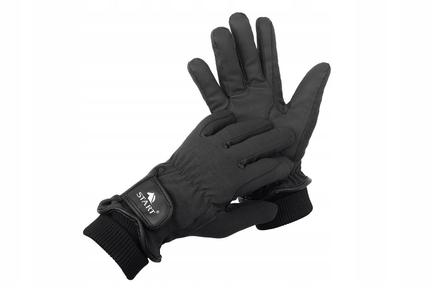 Zimné rukavice Začiatok Foundland Grip - BLACK L