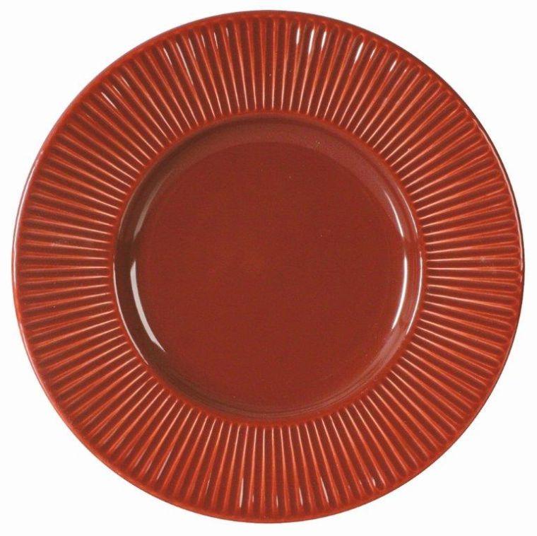 705638 Ambícia Palette Červená Dezertová doska 22,5cm