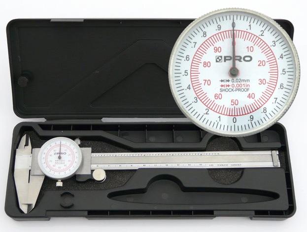 CLOCK CALIPER PRO 0.001IN - SHOUP PROFTH-150MM