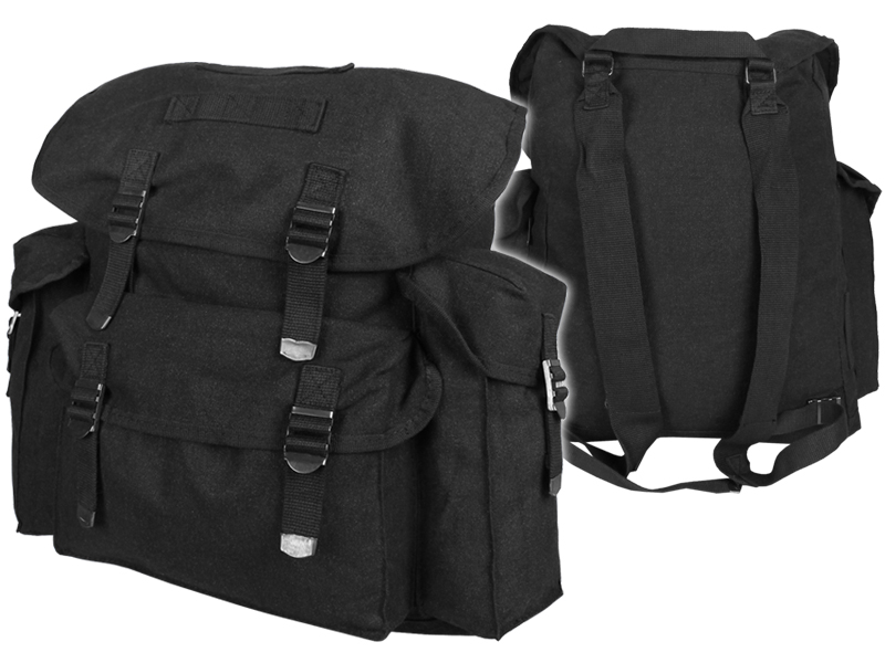 Vojenský batoh 25 l čierny
