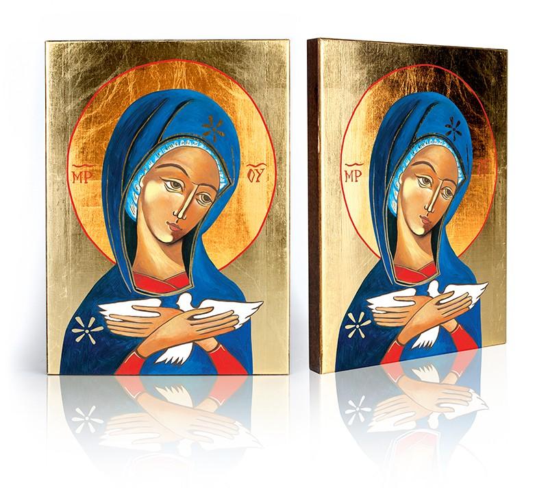 Ikona pneumatofora Matka Božie nesúci Ducha svätca. F