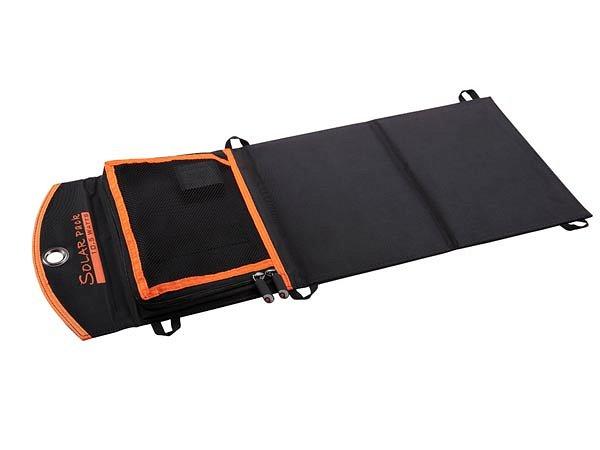 Solárna nabíjačka 10.5 V pre turistov