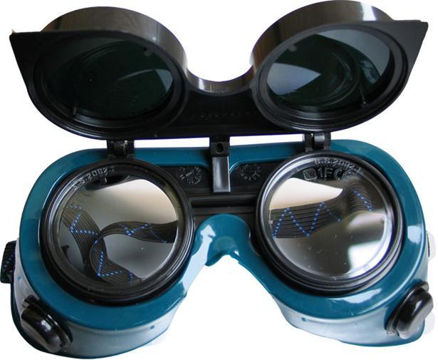 Okuliare zváracie okuliare na ochranné zváranie