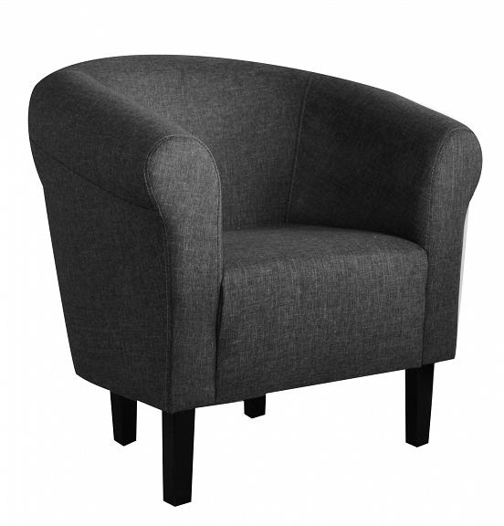 Клубное кресло Monaco Sawana Dark Grey Pub Salon