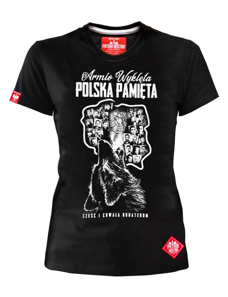 Koszulka Damska Polska Pamieta Zolnierze Wykleci 9206145348 Allegro Pl