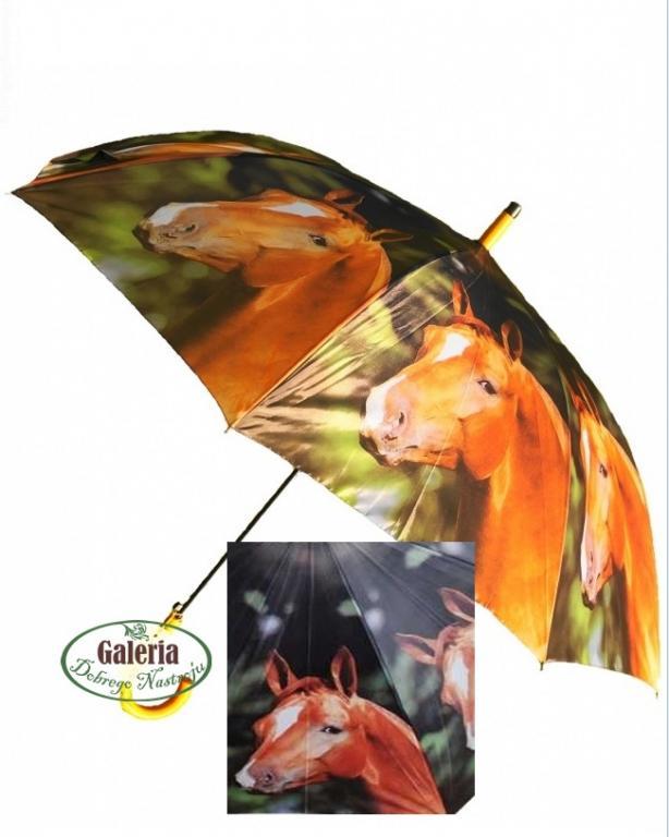 Veľký dáždnik na pár - kôň dáždnik120 cm