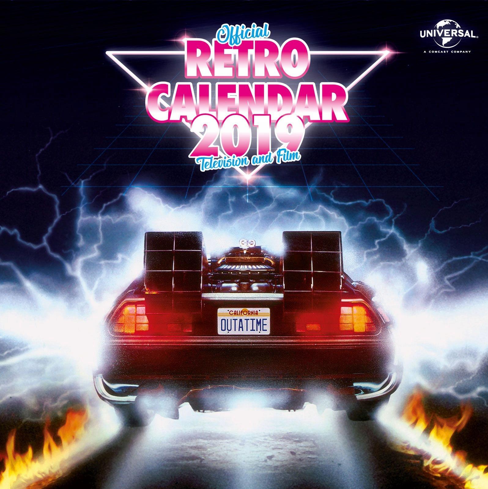 Oficiálny kalendár na rok 2019 z ikonických filmov