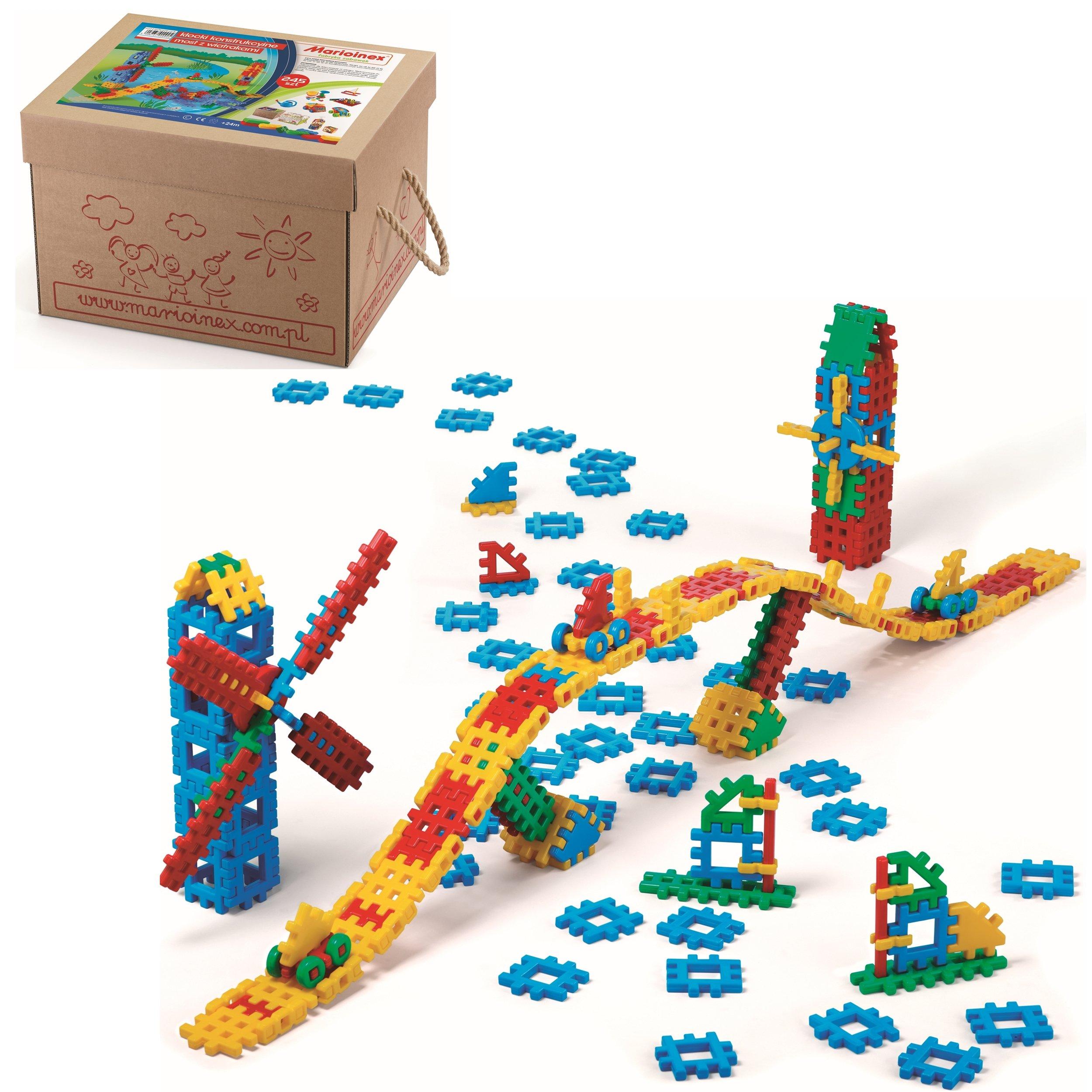 Stavebné bloky MOST S VÍNA + KARTON