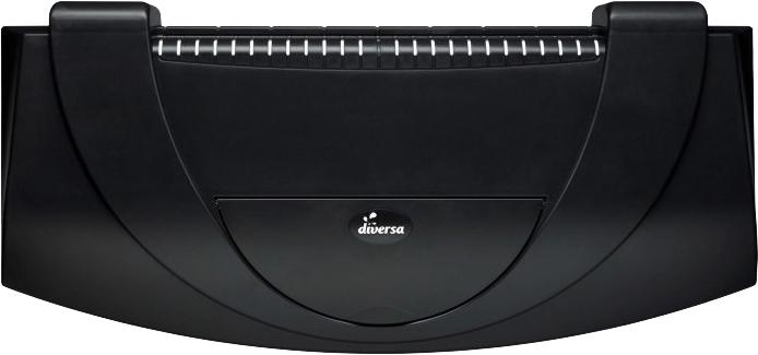 DIVERS ARISTO AP 40x25 LED black 6W kryt
