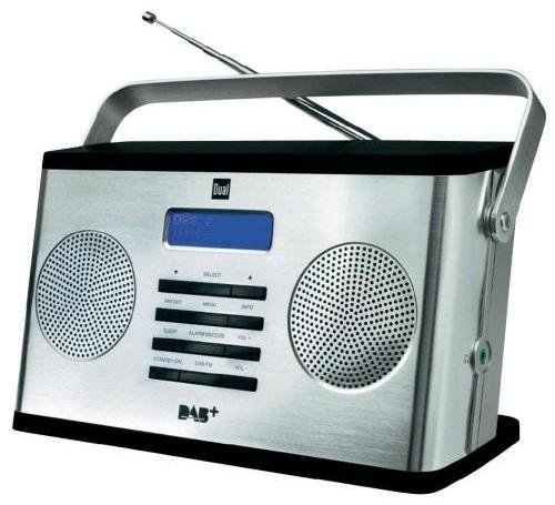 Digitálne rádio DAB / DAB + DUAL DAB 10S FM STEREOU