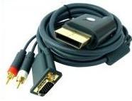 Xbox 360 VGA kábel HD AV LCD / CRT Monitor XBOX360