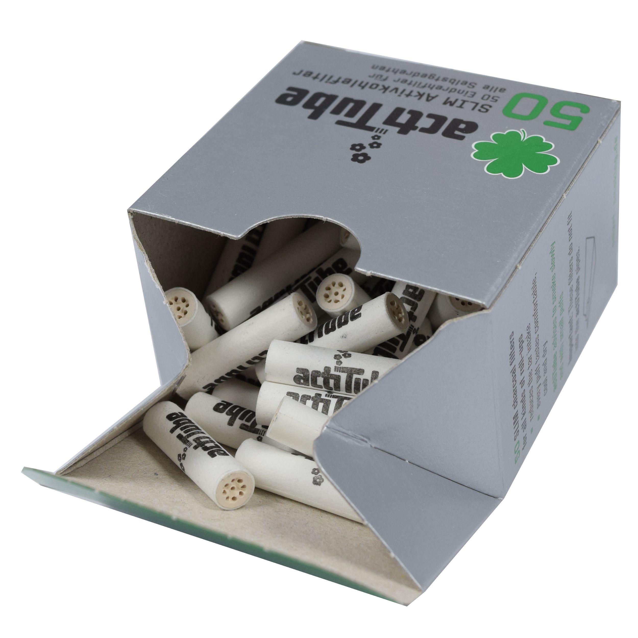 Фильтры для поворотов ActiTube slim 7 мм 50 штук