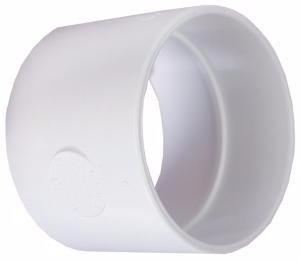 ODKURZACZ CENTRALNY mufa biała PCV instalacja 51mm