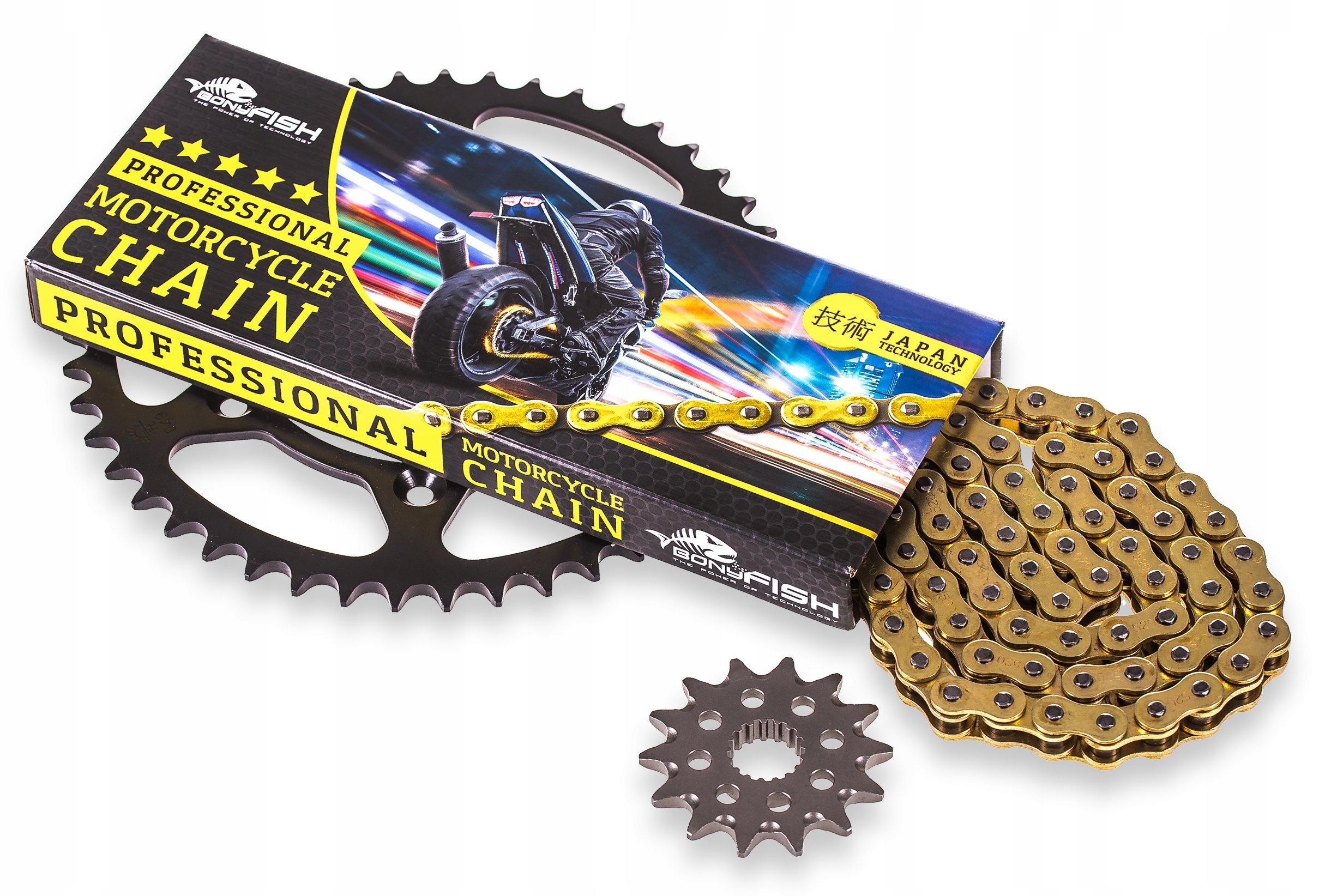 Reťaz + ozubené kolesá Suzuki GSX750 RETRO INAZUMA X-Ring