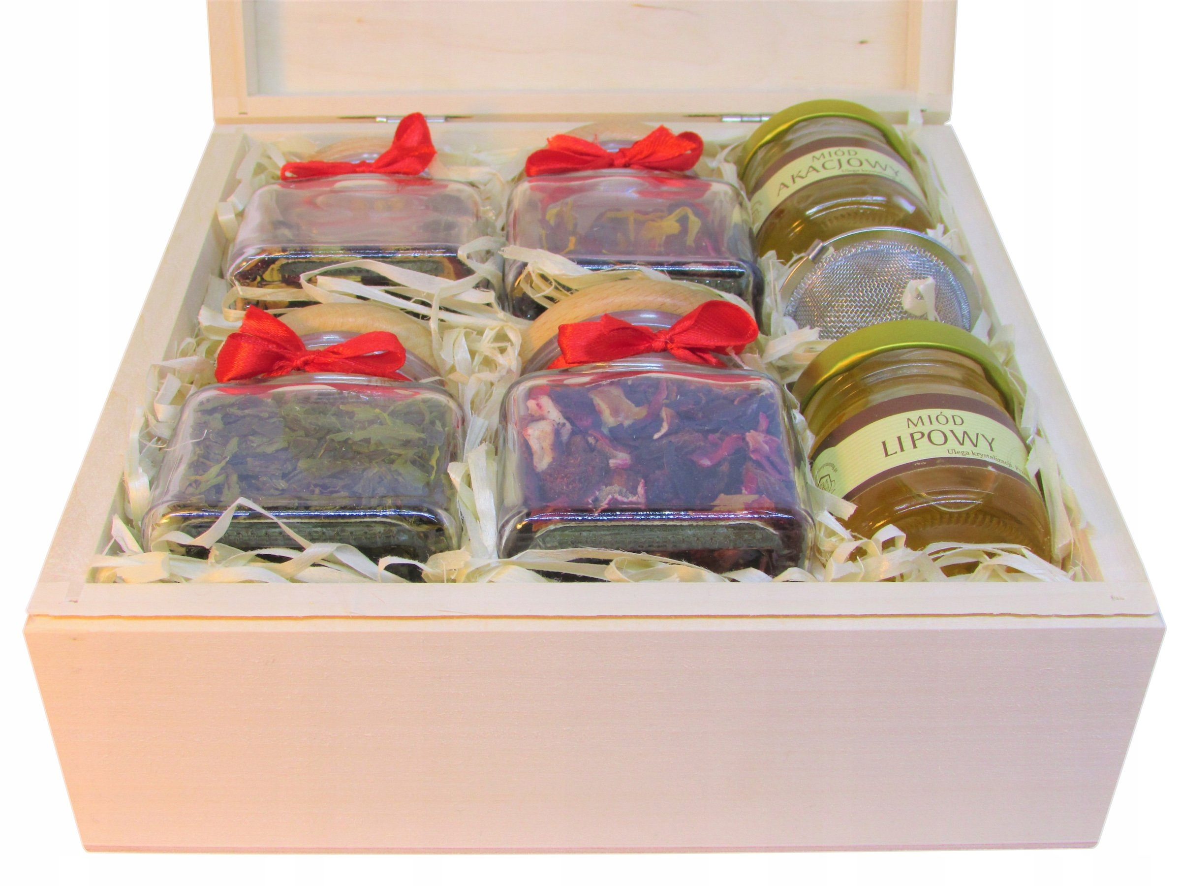 Item A GREAT SET of gifts Tea Honey Zaparzacz HIT!