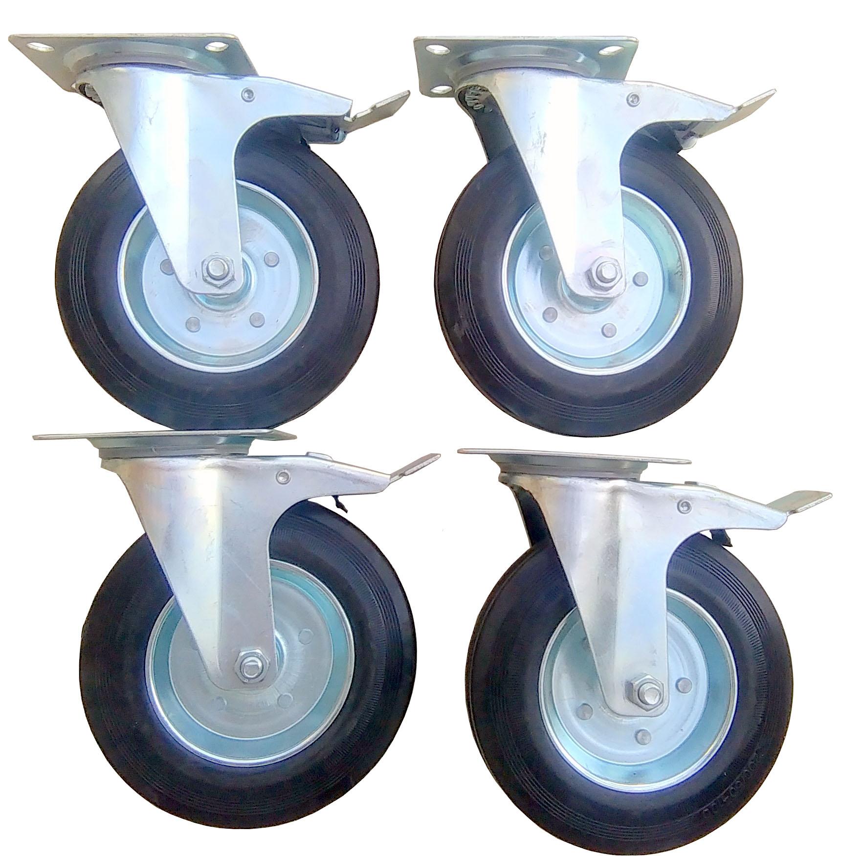 Купить Комплект 4 шт. колесо колесо колесо колесо 200 мм 900 кг! на Otpravka - цены и фото - доставка из Польши и стран Европы в Украину.