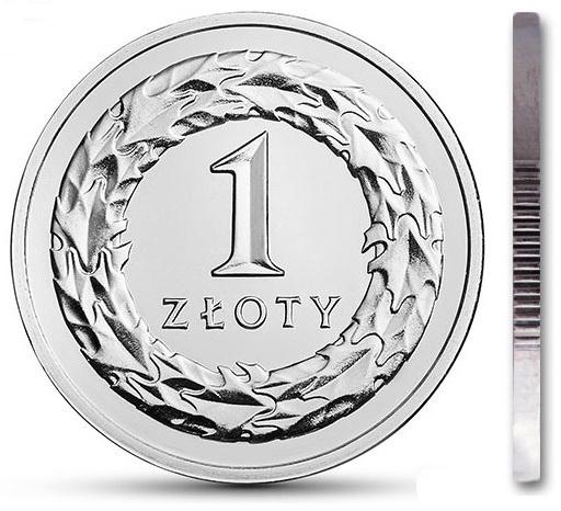 1 zł złoty 2015 mennicza mennicze z woreczka