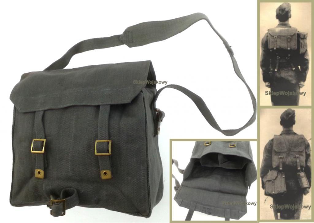Org. Small Pack Haversack Bag 37 Grey