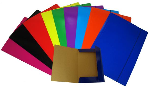 Item Portfolio folder elastic A4 MIX 10pcs nail STRONG