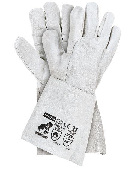 Pracovné rukavice kravy kože rspbszzindianex 1p