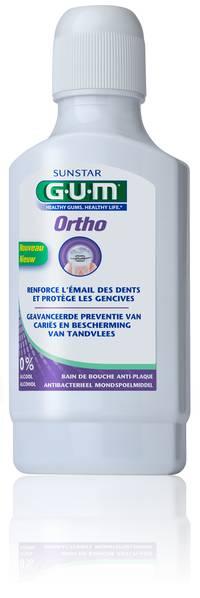 GUM Sunstar Ortho ortodontyczna płukanka 300ml