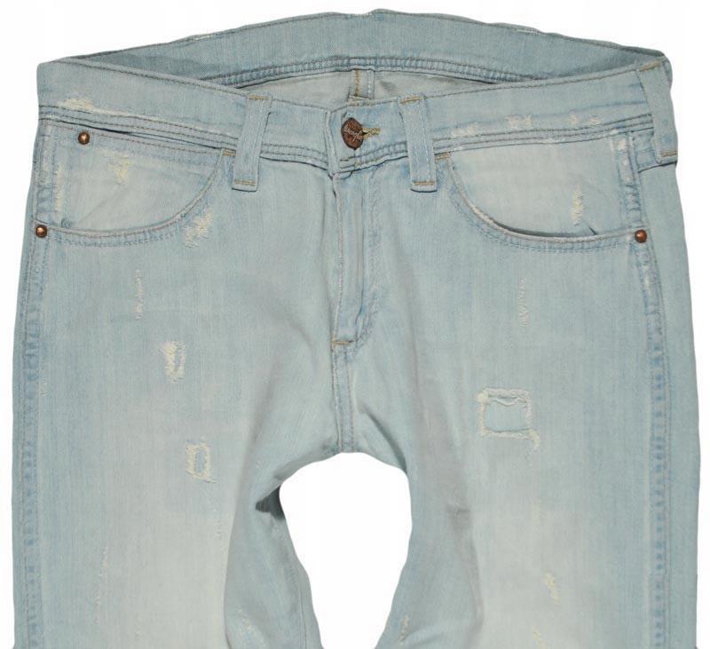WRANGLER nohavice SLIM vintage džínsy W28 L34 STOKES