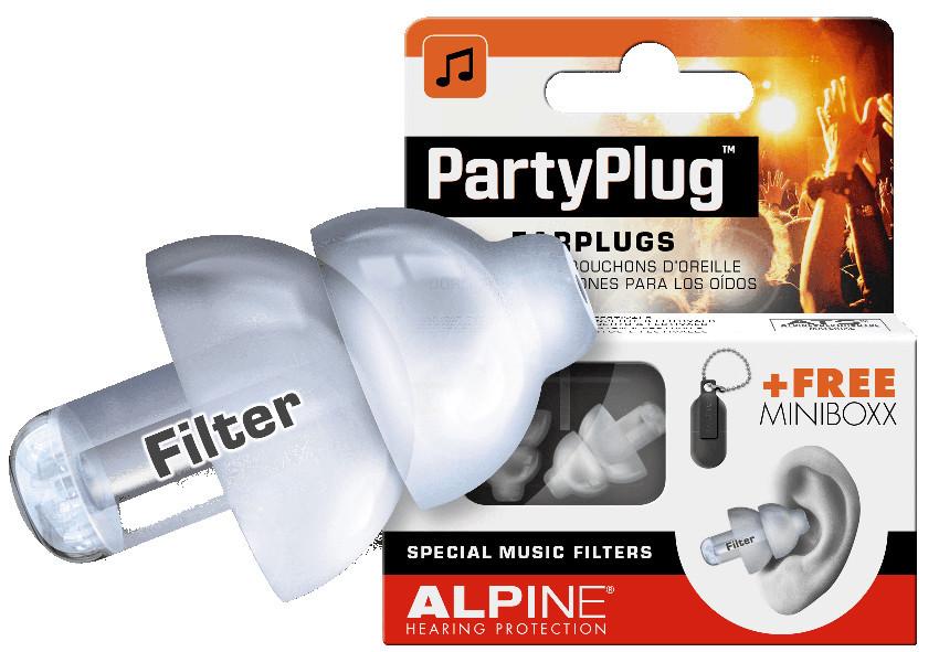 Item EARPLUGS EARPLUGS INTO THE EARS OF ALPINE PARTY PLUG