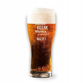 Pokal do piwa z grawerem, na wieczór kawalerski