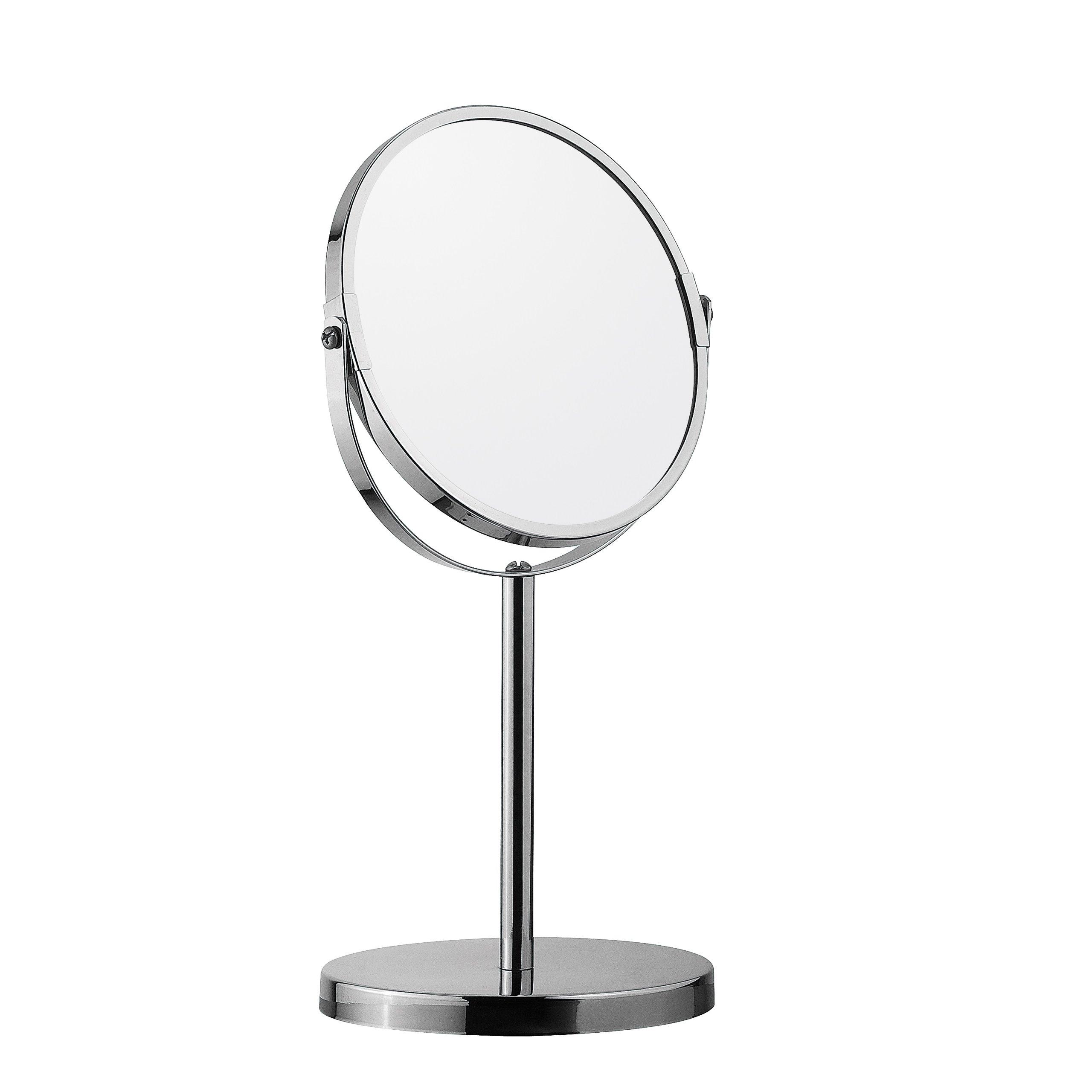 Obojstranné kozmetické zväčšovacie zrkadlo 704