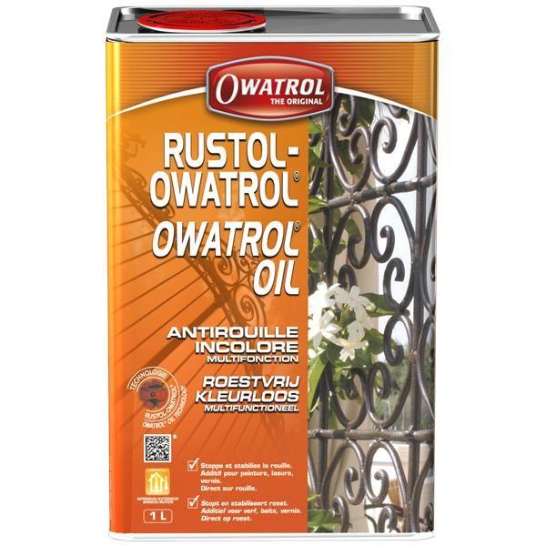 OWATROL OIL - ИНГИБИТОР РЖАВЧИНЫ 1Л КРАСКА НА РЖАВЧИНУ