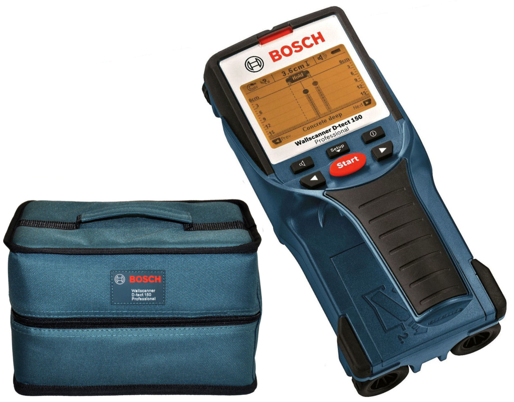 Digitálny Wallscanner D-TECT 150 Detektor Bosch