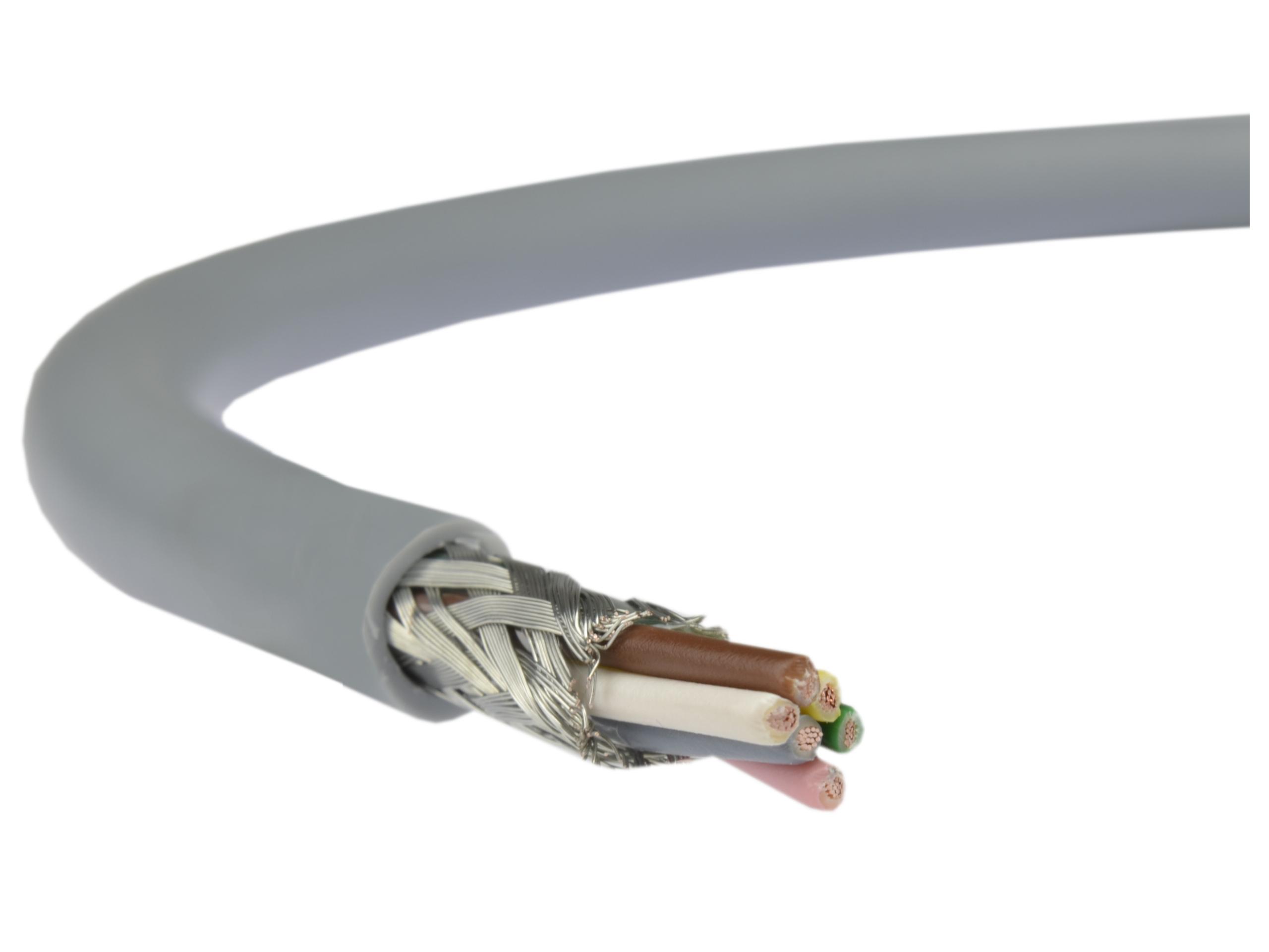 Kábel dusený kábel v obrazovke Liycy-P 3x2x0.5