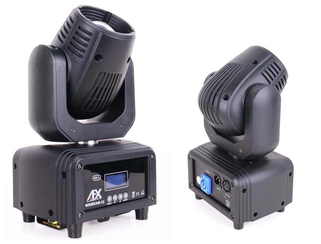 Sťahovacia hlava Minibeam32 AFX RGBW 4IN1 DMX GW.3L