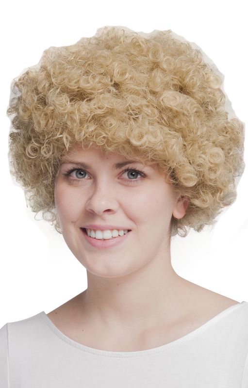 AFRO GIANTY BLONDE WIGS AFRO CP001