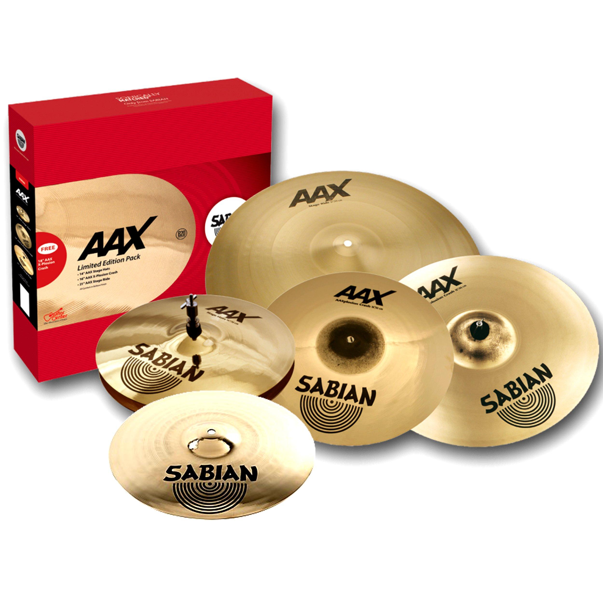 Sabian AAX Set 14,16,18,20 B20 vyrobený v Kanade- Krk