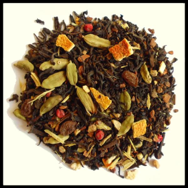 Čaj Puerh čaj červený ZIMNÁ ROZPRÁVKA 1 kg VEĽKOOBCHOD