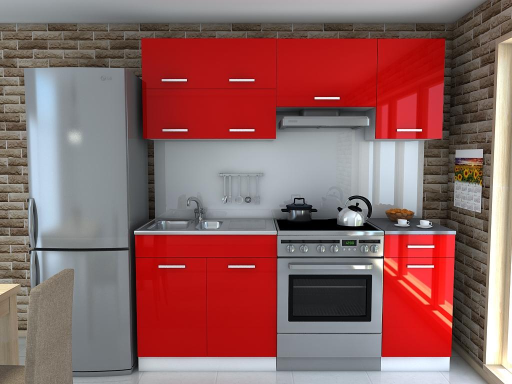 Kuchynský nábytok DOMINIKA kuchyňa LESKU - 9 farieb