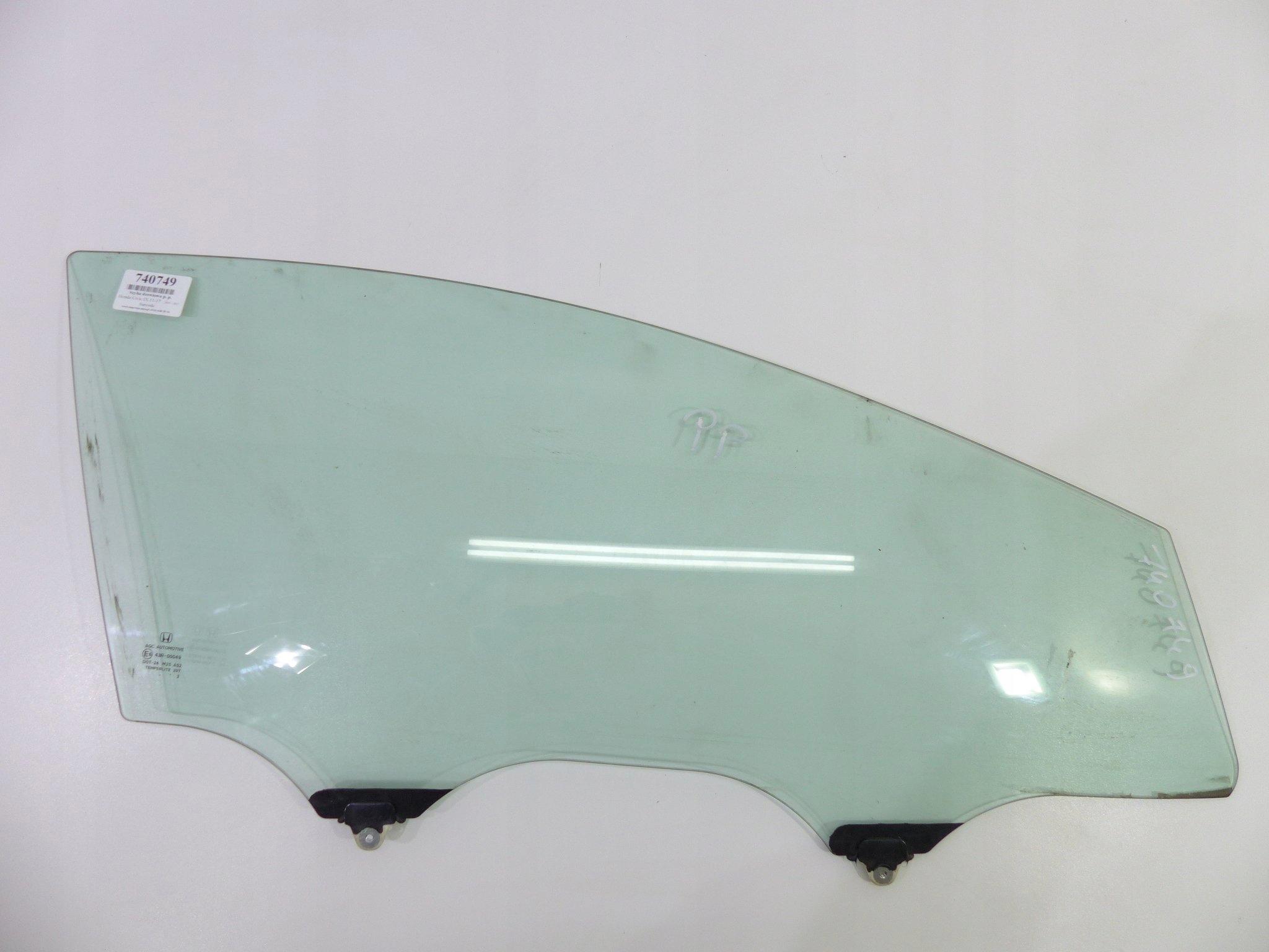 civic ix 11-17 стекло двери вперед права 5d hb