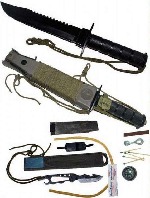 Военный тактический нож RAMBO PROCA CASE + ACCESSORIES
